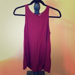Old Navy mulberry tank